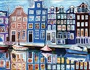 Радуга<br/>над набережной Амстердама