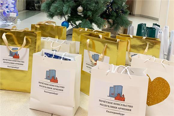 Подарки отвсей души детям Свердловской области