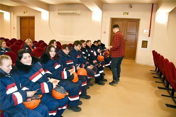 Первые добровольцы Новороссийского порта