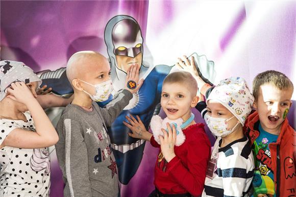 Детям, больным раком, помогут комиксы