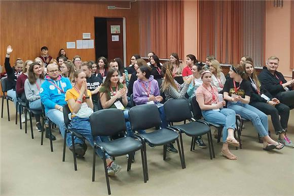 Сотрудники Национального РДКМ прочли лекцию о донорстве костного мозга студентам – организаторам донорских акций