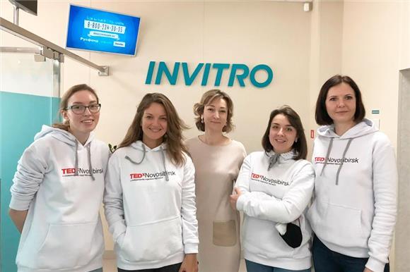 Команда TEDxNovosibirsk вступает вНациональный регистр доноров костного мозга имени ВасиПеревощикова