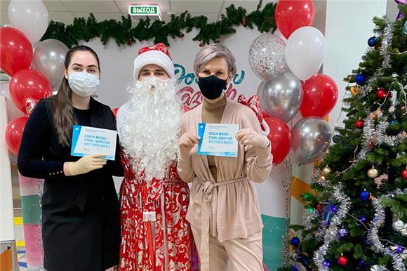 В Казани состоялась «Новогодняя донорская акция»