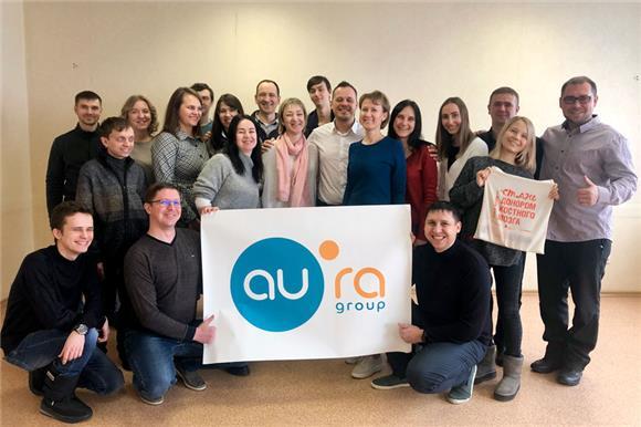 15сотрудников новосибирской ГК«Аура» вступили вНациональный регистр доноров костного мозга
