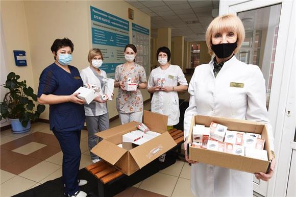 Две детские больницы получили помощь от компании Tetra Pak по проекту «Русфонд.Коронавирус»