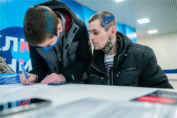 65человек присоединились кНациональному РДКМ входе «Месяца донора» ФК«Зенит»