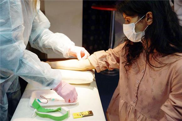 Вворонежской клинике прошла донорская акция