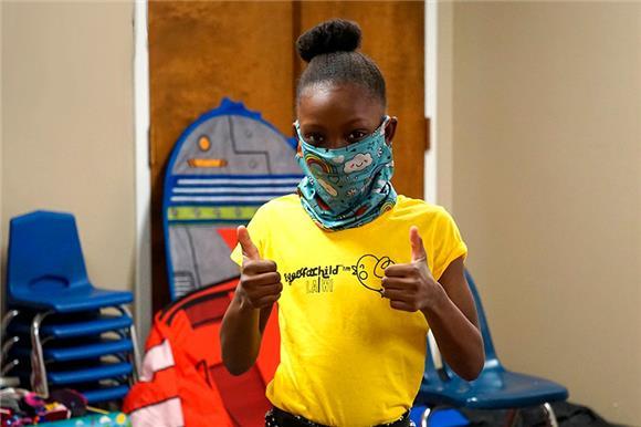 Восьмилетняя американка организовала благотворительную продажу в пользу бездомных детей