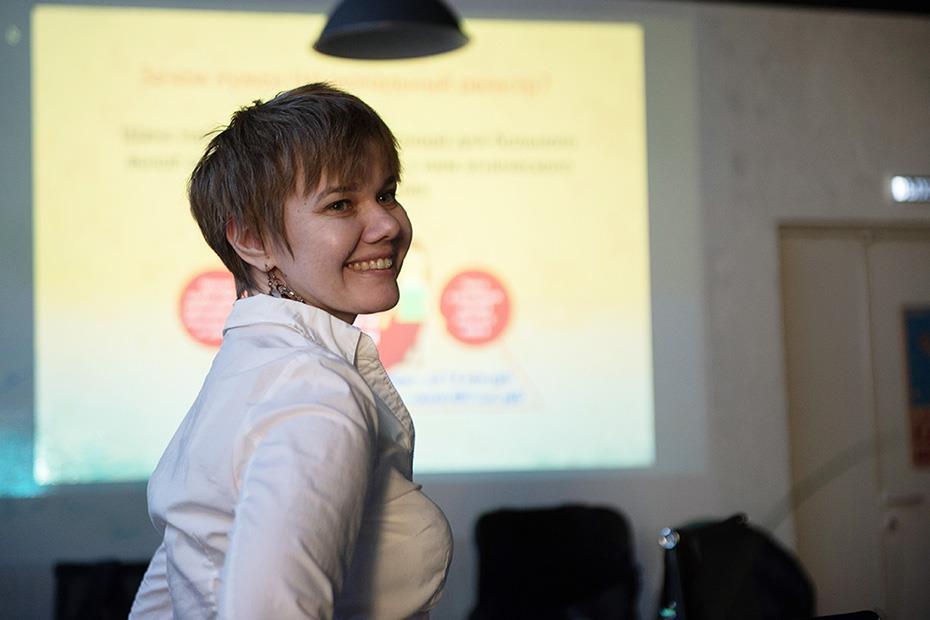 Людмила Геранина, координатор донорских акций Национального РДКМ в Москве
