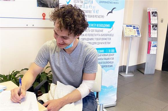 19студентов Университета ИТМО решили стать потенциальными донорами костного мозга