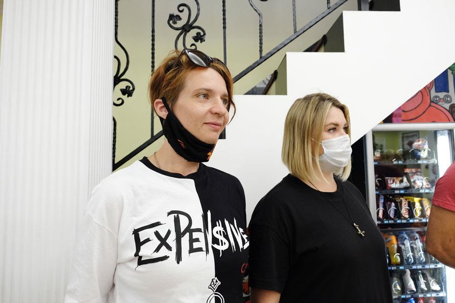 Участницы донорской акции