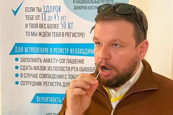 Директор фонда «Нужна помощь» Митя Алешковский иеще несколько человек изего команды приняли решение вступить вНациональный РДКМ