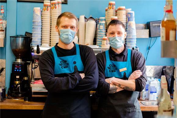 Кофе с донором по‑питерски: совместный проект кофейни Coffee Therapy и Центра развития донорства костного мозга