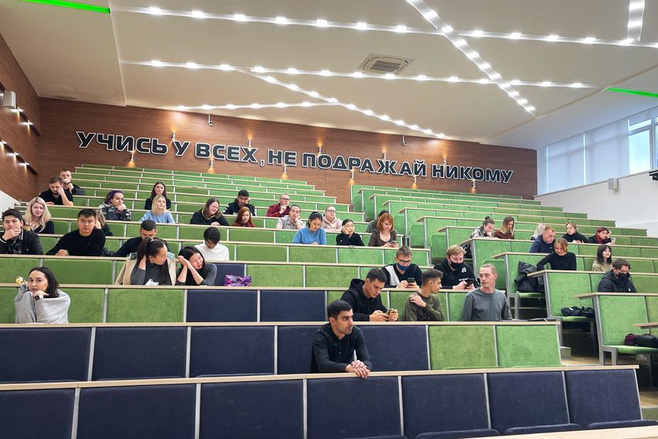 Студенты Института инженерных технологий КемГУ