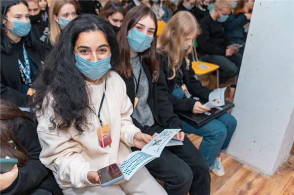 30 добровольцев – участников молодежного форума «Фишт» сдали буккальный эпителий для вступления в Национальный РДКМ