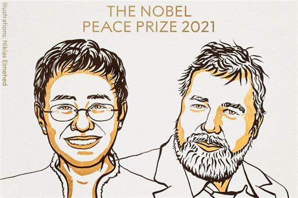 Главред «Новой газеты» ДмитрийМуратов получил Нобелевскую премию мира. Часть вознаграждения оннаправит впомощь тяжелобольным детям