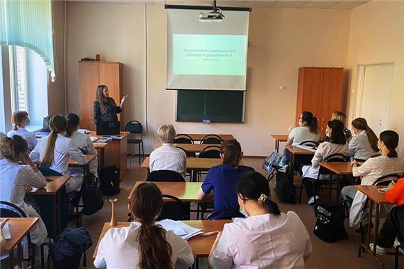 12студентов петербургского Медтехникума №9сдали образцы буккального эпителия для вступления врегистр