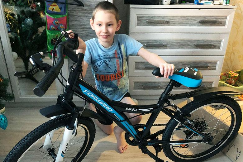 Велосипед для Максима Губаева из Екатеринбурга