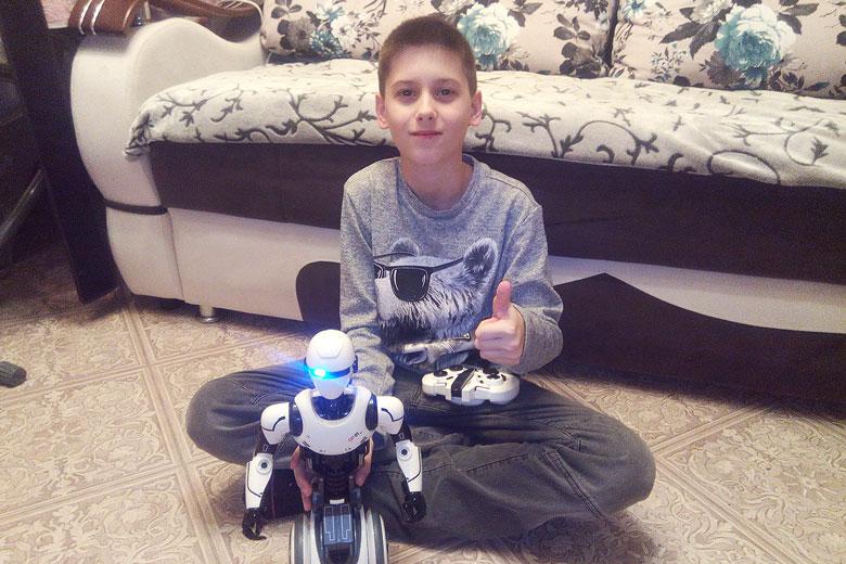 Робот для Никиты Трекина из Верхней Пышмы