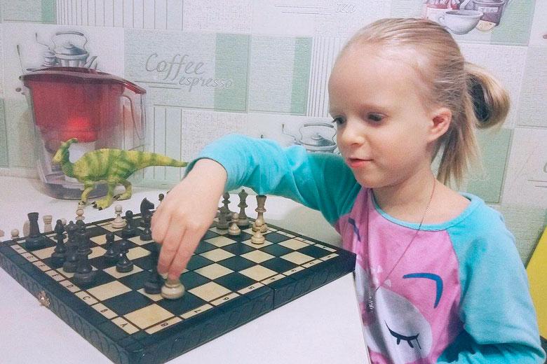 Шахматы для Любы Пермяковой из Красноуфимска