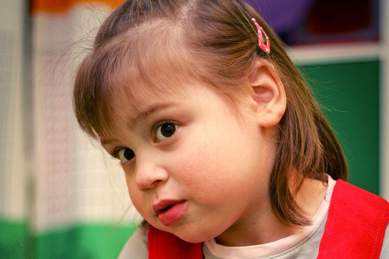 Ангелине пять лет