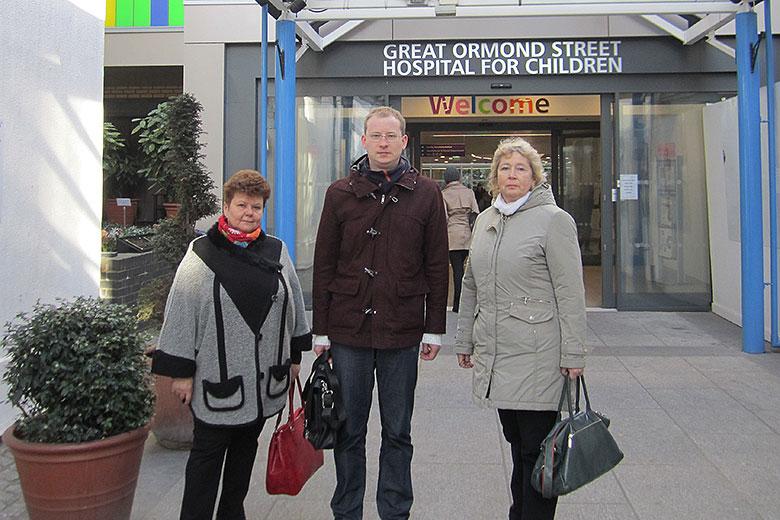 3. В лондонской клинике Грейт Ормонд Стрит (Great Ormond Street Hospital)