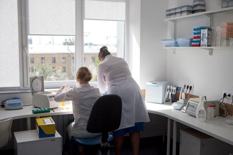 10. Сотрудники лаборатории