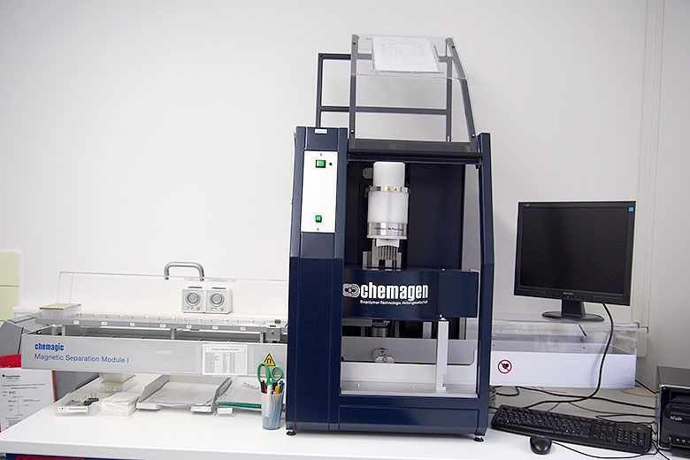 6. Лаборатория Фонда Стефана Морша (Биркенфельд, Германия), процессор магнитных частиц для выделения ДНК в планшетном формате