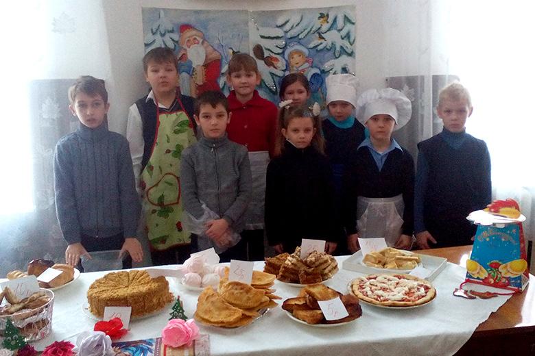 Участники ярмарки в Березовке