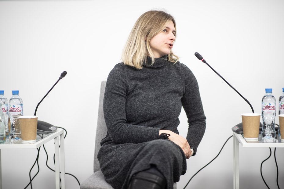 Директор департамента по работе со сторонниками Greenpeace в России Наталья Торкунова