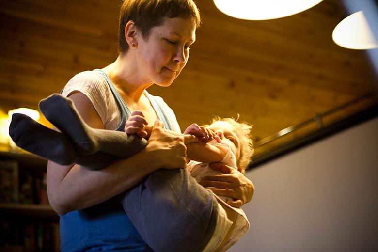 7. Если как следует собрать ребенка, мышечного тонуса не будет