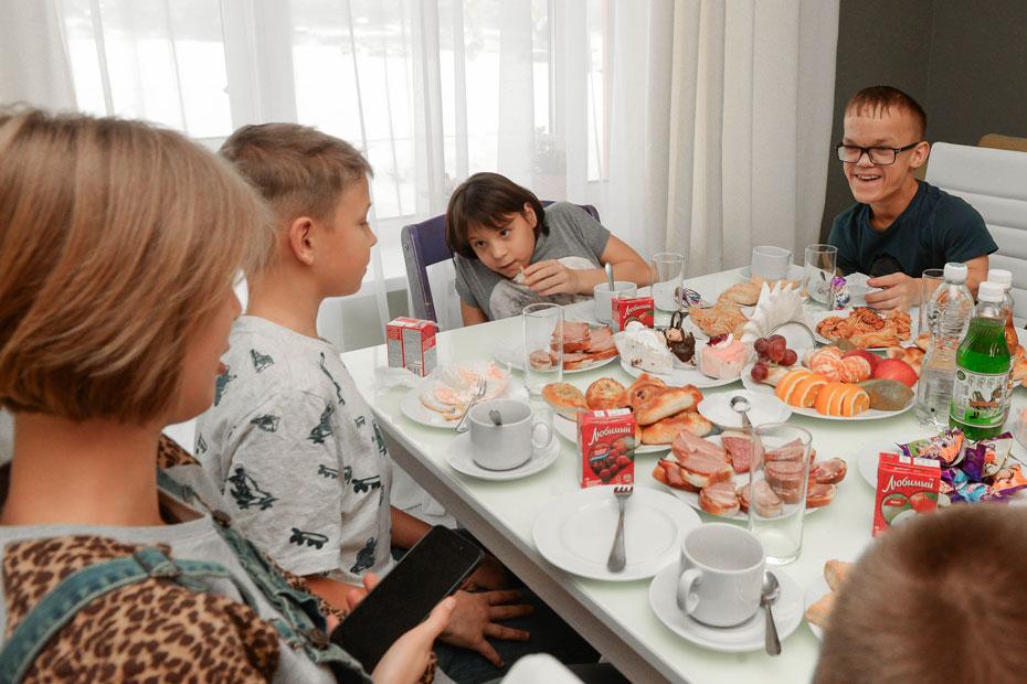 Дети Ольги Щеголевой